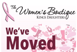 9356e475ea461 King s Daughters Women s Boutique has moved to 121 16th Street in Ashland  next to Identity Salon. The larger space has enabled the Boutique to expand  their ...
