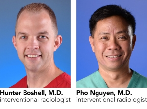 Hunter Boshell, M.D., and Pho Nguyen, M.D.