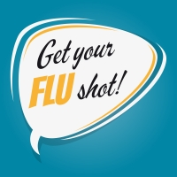 get your flu shot logo